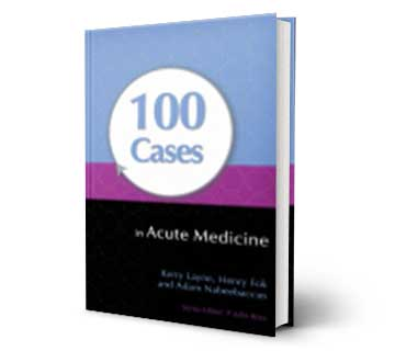 100Cases in Acute Medicine Reference Book
