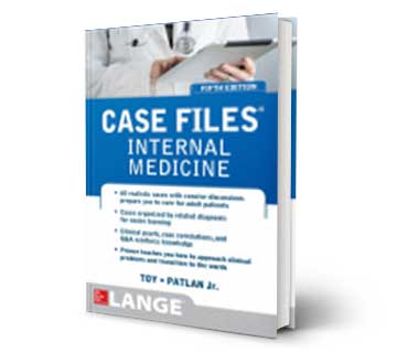 Case File Internal Medicine Reference Book