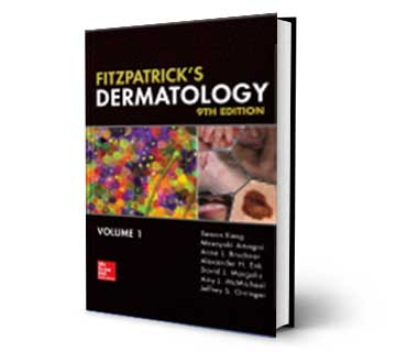 Fitzpatrick's Dermatology 2020 9Edition Reference Book