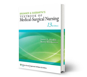 medical surgical nursing13th refrence book