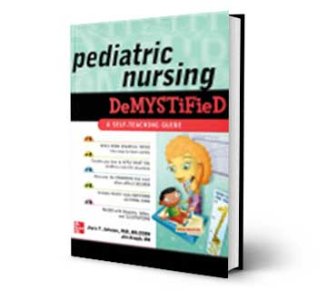 pediatric nursing refrence book